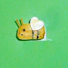 玉子焼きで簡単♪ハチさん作っちゃお~