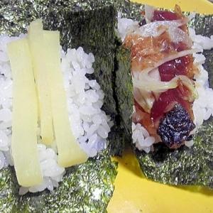 漬けカツオで普段着の手巻き寿司