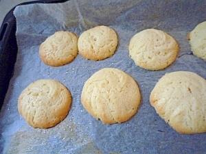 簡単!サクサク卵白使用★絞り出しクッキー