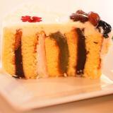 ロールケーキからの~♪和風抹茶ショートケーキ