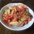 トマ味噌チキン