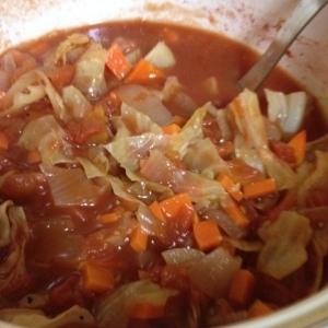 あったかヘルシートマトスープ