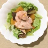 鱒と南瓜のサラダ