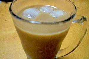 甘さ控えめ!  「我が家の黒蜜入りアイスコーヒー」
