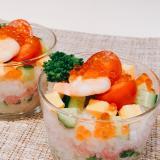 菜の花とこんにゃく米ミニちらし寿司