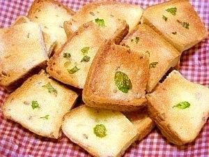 食パンで☆ラスク