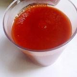 トマトジュースで自家製ケチャップ