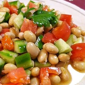 大豆のメキシコ風サラダ