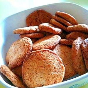 ねりゴマクッキー(☆バター不使用☆)