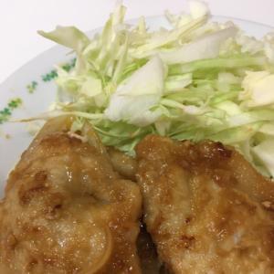 しょうがチューブで作る豚肉の生姜焼き!