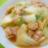 トロトロ白菜と鶏もも肉の中華煮
