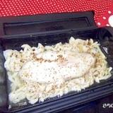 日本一簡単なレシピ★白身魚&きのこのカラフルペパー