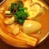温まる!!☆野菜たっぷり牡蠣の鍋