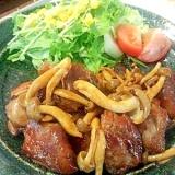 ヨシダソースで鶏のつけ焼き