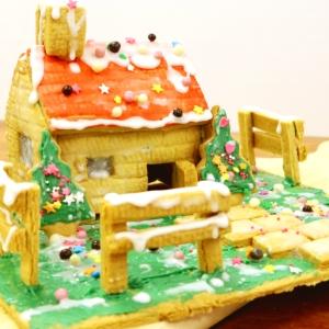 クリスマスに♪お菓子の家