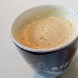 バリスタで 美的緑茶カプチーノ