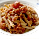 ジェメッリのレンズ豆ソース