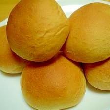 学校給食風!黒糖丸パン