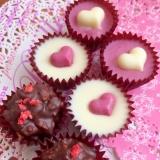 子供だけで作れる♪3種類のバレンタインチョコレート