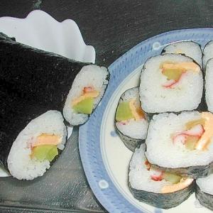 巻きす無しで恵方巻き!ちらし寿司の元を活用☆
