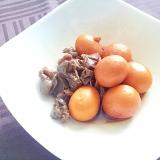 山梨B級グルメ編☆キンカンと砂肝の甘辛煮