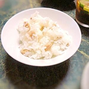 簡単ヘルシー☆炒り大豆の混ぜご飯