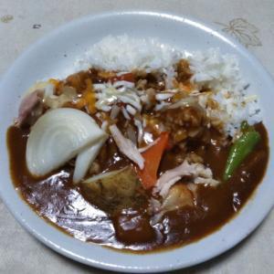 素揚げ野菜のカレー