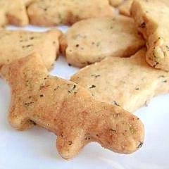 紅茶の型抜きクッキー