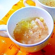 自分で作る、春雨カップスープ