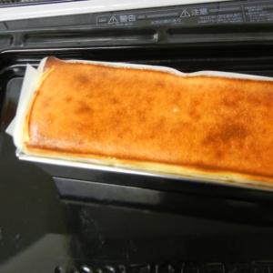 パウンド型でベイクドチーズケーキ