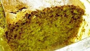 お茶風味のパウンドケーキ