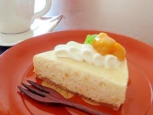 ちょっとアジアン~マンゴーチーズケーキ