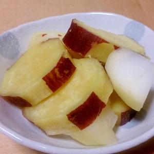 さつまいもとりんごのレモン煮★お弁当の黄色担当