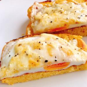 朝食やランチに☆チーズベーコンエッグのトースト