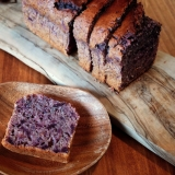 紫芋のパウンドケーキ・バター不使用