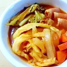 野菜たっぷり トマト鍋