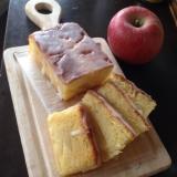 りんごパウンドケーキ♪