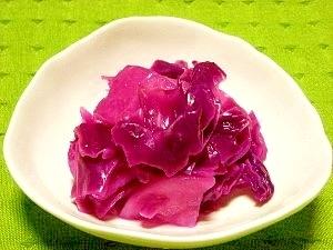 紫キャベツと大根の甘酢漬け