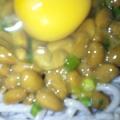 簡単☆納豆&卵蕎麦