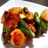 フライパン1つ簡単料理⑩絶品チキンガリバタ焼き♪