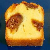 しっとり♡いちじくのパウンドケーキ