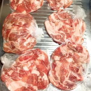 大容量パックを購入したら☆お肉の冷凍方法