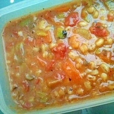 トマトとハトムギの美肌スープ