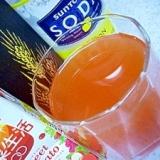 焼酎のトマトジュース&レモン炭酸割り*