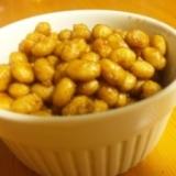 水煮缶で☆大豆の甘辛炒め