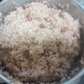 圧力鍋 de お赤飯