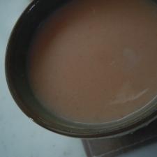 胡麻香る☆にんじんのきなこミルク