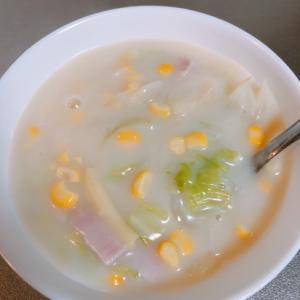 クリープで簡単スープ