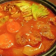 旨みたっぷり♪塩麹トマト鍋