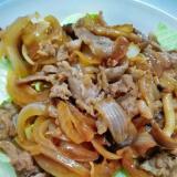 豚焼き肉のサラダ